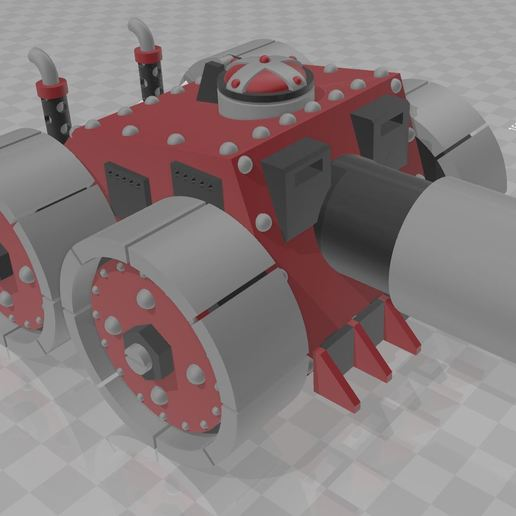 Télécharger modèle 3D gratuit Le casseur de gouttes, MKojiro