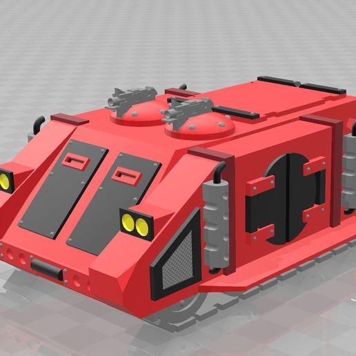 Télécharger modèle 3D gratuit Space Marine Rhino (Version Rogue Trader), MKojiro
