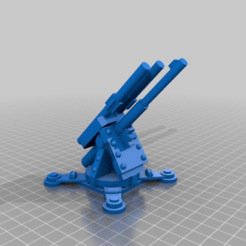 Download free 3D printer designs Squat Thunderfire Cannon, MKojiro