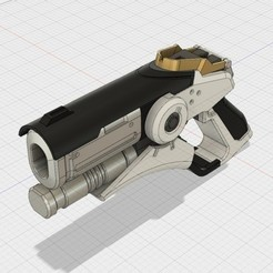b66fe24a496f67476920bcad776b0f77_preview_featured.jpg Download free STL file Caduceus Blaster • 3D printing model, MKojiro