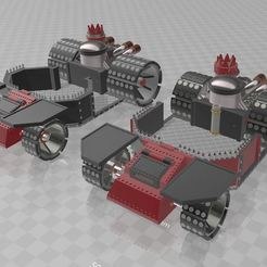 Download free STL file Battle wagon • 3D printer object, MKojiro