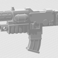 Download free STL file Combi Melta Guns • 3D printer design, MKojiro