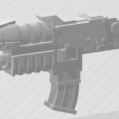 CombiGrav.JPG Download STL file Combi Grav Gun • 3D printing template, MKojiro
