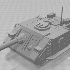 Sabre.JPG Download free STL file Sabre Tank Hunter • 3D print design, MKojiro