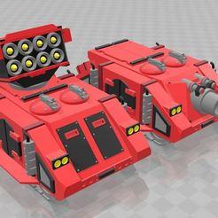 Vind_Whirl.JPG Download free STL file Whirlwhind/Vindicator parts for Rogue Trader Rhino • 3D printable model, MKojiro