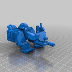 Download free STL file Kustom Jar Head Speeder • 3D printer design, MKojiro
