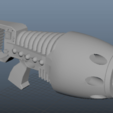 PlasmaRT.png Download STL file Rogue Trader Era Plasma Gun • 3D printer object, MKojiro