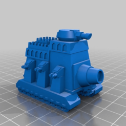 Download free 3D printing templates Imperial/Squat Leviathan, MKojiro