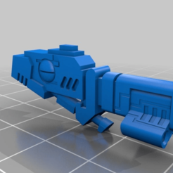 Download free STL file Tau Cyclonic Gun • 3D print model, MKojiro