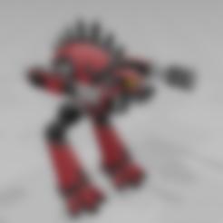 Download free STL file Warhound Titan • Model to 3D print, MKojiro