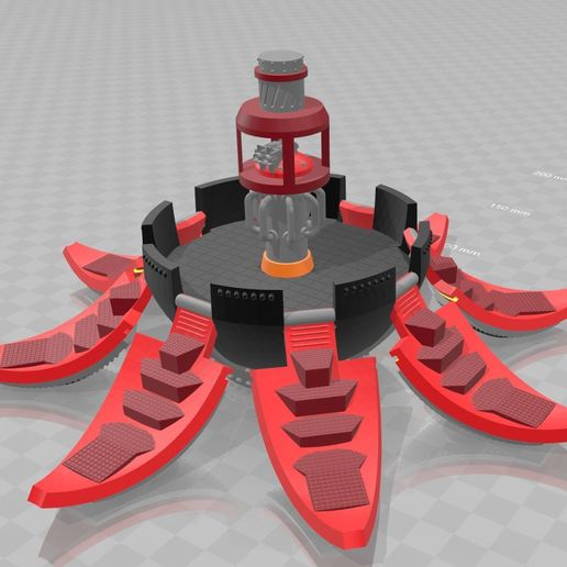 Télécharger plan imprimante 3D gatuit L'ère des Drop Pod RT (28mm), MKojiro