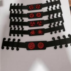 Sharingans.png Télécharger fichier STL Sharingans Naruto Ear Savers • Modèle à imprimer en 3D, alexcanot9626