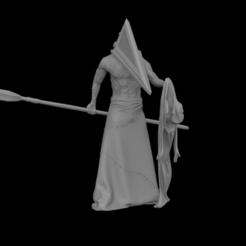 Download 3D printer designs Pyramid Head - Silent Hill Monster, Mutant_Turkey