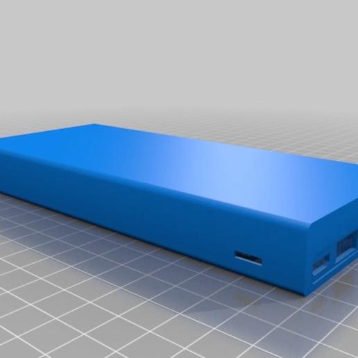 Download free STL powerbank case replacement (Kinps PWB-KS901), mecgyver