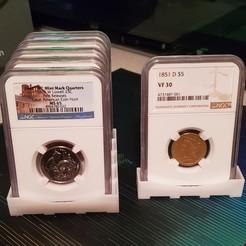 Download free 3D printer designs Coin Slab Holder, koga73