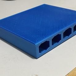 IMG_4357.jpeg Télécharger fichier STL SlideSlot (Porte-stylo) • Design imprimable en 3D, rubyad