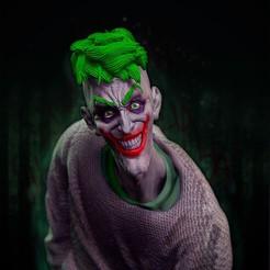 zoom.jpg Télécharger fichier STL Le buste du Joker • Plan pour impression 3D, Muriih3dd