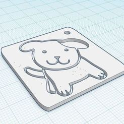Descargar modelos 3D para imprimir Llavero para perros, owaiskhan722