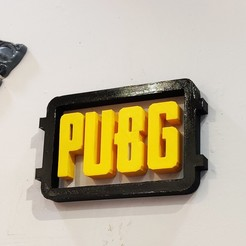 Descargar modelo 3D Logotipo de Pubg, owaiskhan722