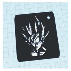 Descargar archivos 3D Llavero Goku, owaiskhan722