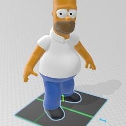 H.jpg Download free 3MF file Homer³ • 3D print model, tonitendo