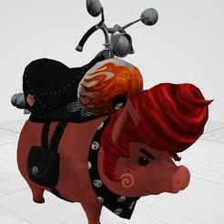Télécharger modèle 3D gratuit Harley The Pig (Tera), tonitendo