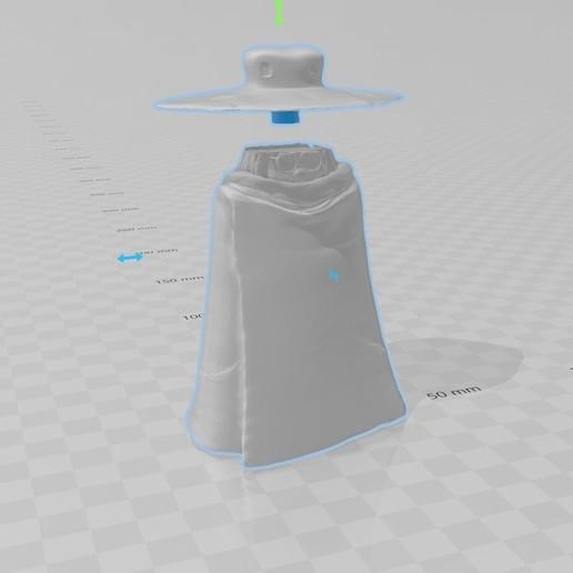 assemble.jpg Télécharger fichier STL gratuit Tochirō Ōyama (Albator) • Plan imprimable en 3D, tonitendo