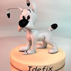 IDfX.jpg Télécharger fichier STL IDEFIX • Plan pour imprimante 3D, tonitendo