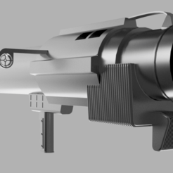 Prev1.png Download STL file MiniMag PTL Rocket Launcher from Star Wars - Battlefront • 3D print design, ncer