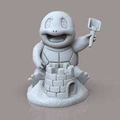 ы.12.jpg Télécharger fichier STL L'écureuil Pokemon • Modèle pour imprimante 3D, jexes20092