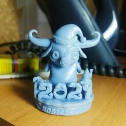 g8RuQgnug5Q.jpg Télécharger fichier STL taureau Bonne année modèle d'impression 3D • Objet imprimable en 3D, jexes20092