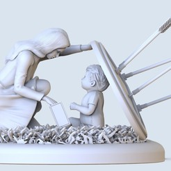 untitled.118.jpg Download OBJ file Mother's love for the child • 3D printing design, jexes20092