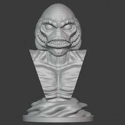 Download 3D printing models Gillman, PatimStudio