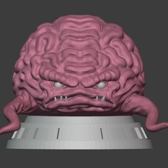 01krang.jpg Download STL file Krang TMNT • Template to 3D print, PatimStudio