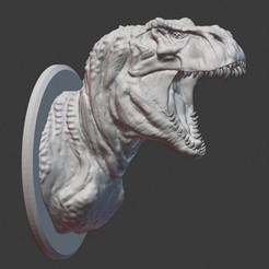 rex1.jpg Télécharger fichier STL V Rex buste • Plan pour impression 3D, PatimStudio