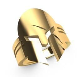 Télécharger STL Modèle d'impression 3D de l'anneau du gladiateur, SantoGrialJoyeros