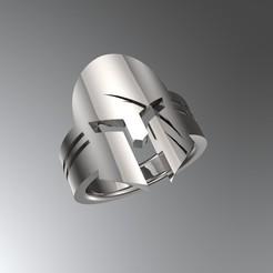 Download 3D print files Gladiator Ring 3D print model, SantoGrialJoyeros