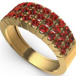 Télécharger modèle 3D Modèle d'impression 3D de Ring Gems Modèle d'impression 3D, SantoGrialJoyeros