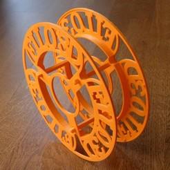 Spool Filo 3D (6).JPG Télécharger fichier STL gratuit Flasques Filo3D • Design pour imprimante 3D, MrJoce