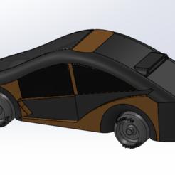 Capture.PNG Download STL file tesla futuristic car • 3D printing object, remi2907