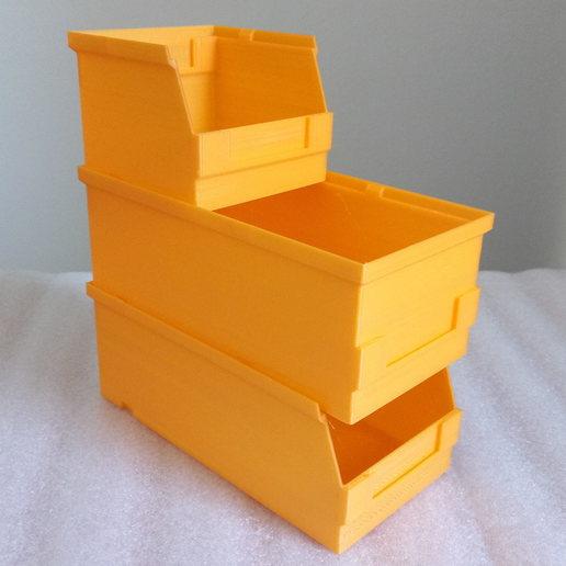 Télécharger objet 3D gratuit système de boîtes empilables 80, akimakes