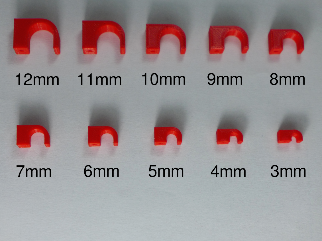 assortment.png Download free STL file Nail-in Cable Clip [3-12mm Assortment] • 3D printable design, akimakes
