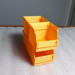 Descargar archivos STL gratis sistema de caja apilable 60, akimakes