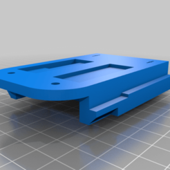 makita_side.png Download free STL file Makita - Activ Energy (Ferrex) 18v battery adapter • 3D printable template, akimakes