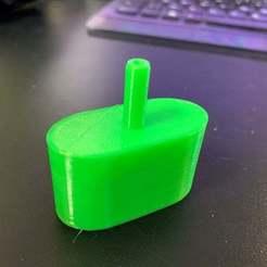 inflat1.jpg Télécharger fichier STL gratuit COVID-19 . Adaptateur pour le gonfleur de plongée de 2ème étage pour l'oxygénothérapie • Objet à imprimer en 3D, MINION