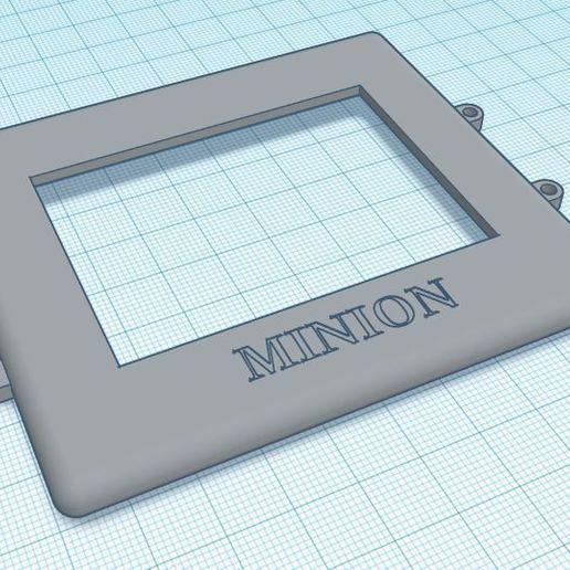 Télécharger plan imprimante 3D gatuit Protection Mares Icon HD, MINION