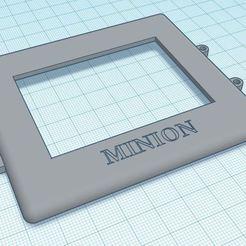 Télécharger fichier STL gratuit Protection Mares Icon HD • Design pour impression 3D, MINION