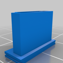 HDMI_port_cover.png Download free STL file HDMI port cover • 3D print template, martifaig