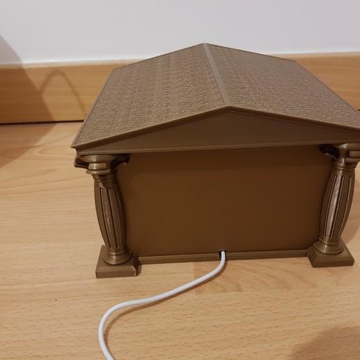 20200114_224320.jpg Télécharger fichier STL Support Lithophanie grecque antique / Ancient Greek Lithophanie support • Design imprimable en 3D, Stendy