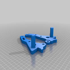 Download free 3D printing templates Qidi X-Plus Spool Mount, skiidlive